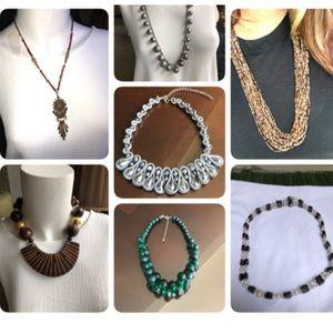 Vintage Necklace Bundle (7 items)
